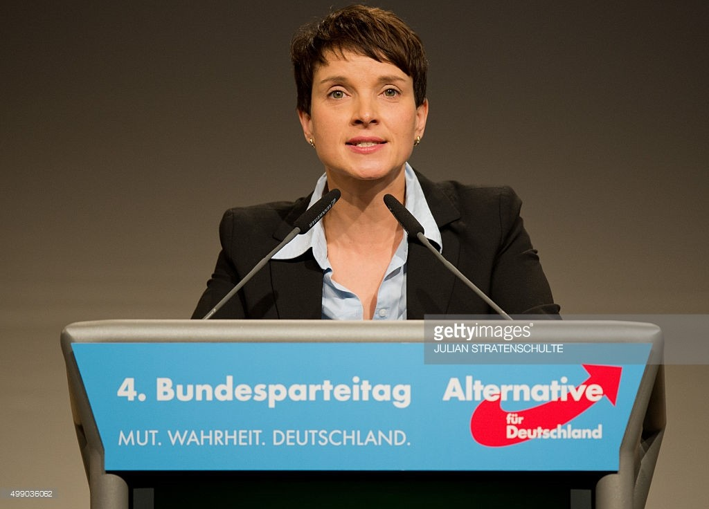 Frauke Petry, kiongozi Mkuu wa chama cha Alternative for Germany